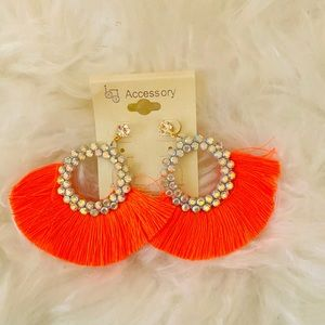 🧡NEW 🧡 SUMMER VIBRANT FRINGE EARRINGS